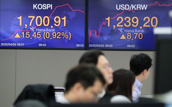 Seoul stocks open lower on deepening virus woes