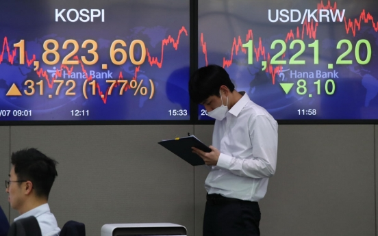 Seoul stocks up for 4th day on hopes for virus slowdown