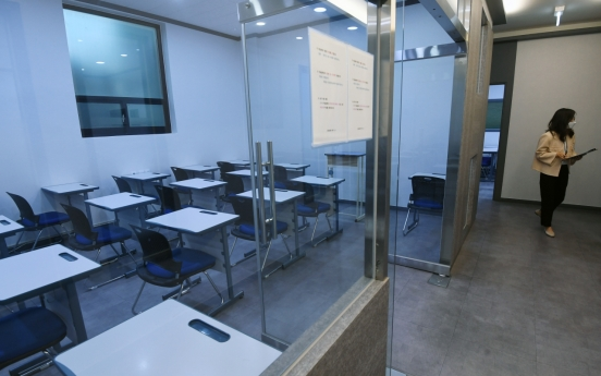Govt. recommends temporary closure of private academies
