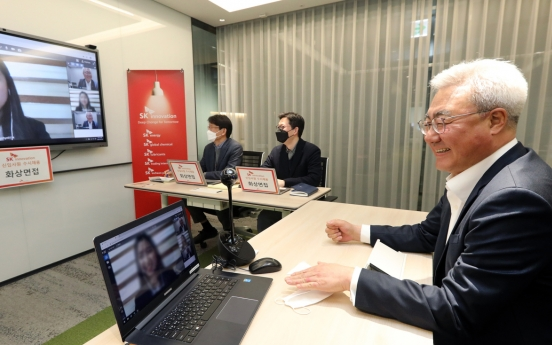 [Photo News] Unexpected job interview with CEO