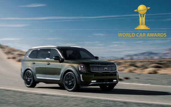 Kia's midsized SUV Telluride named 2020 World Car of Year