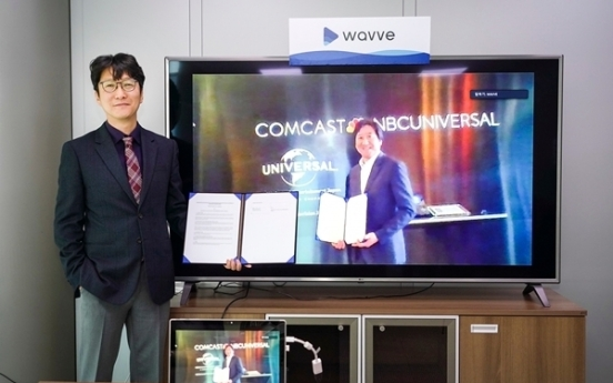 Streaming platform Wavve partners with NBCUniversal to export Korean content