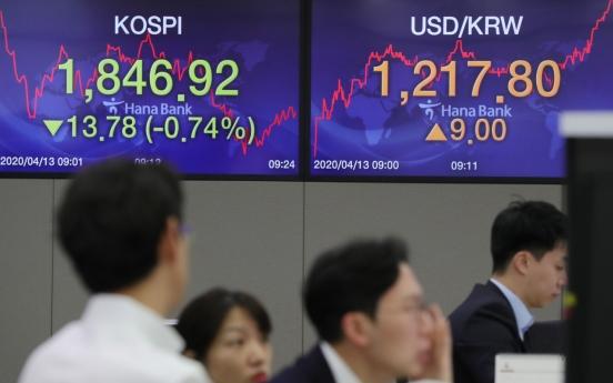 Seoul stocks open lower despite US gains