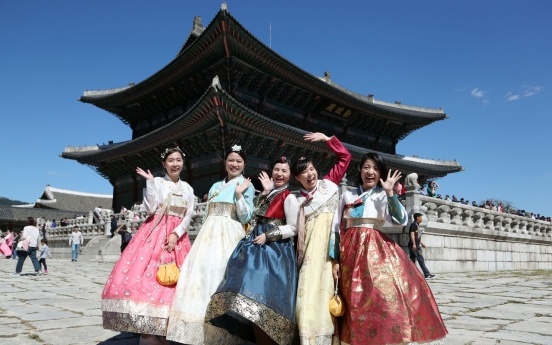 Popularity of S. Korea as tourist destination grows for 6th year in a row: poll