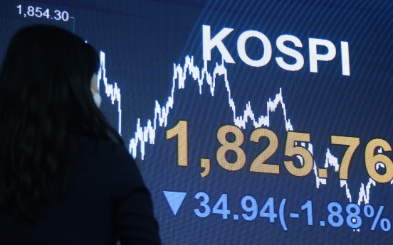 Seoul down 1.9% on virus woes, weak data