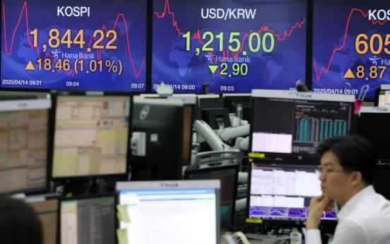 Seoul stocks open higher amid eased virus woes