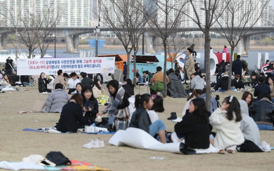 Koreans in 20s least strict about social distancing: survey