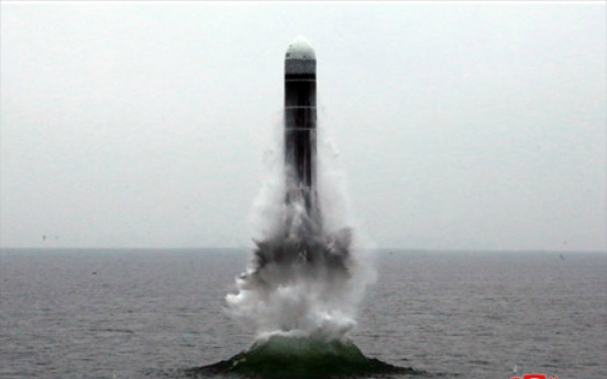 N. Korea fires barrage of missiles on eve of founder's birthday, S. Korea's elections
