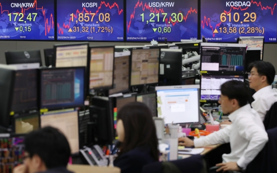 S. Korean stocks rebound 1.72% amid hopes of virus outbreak