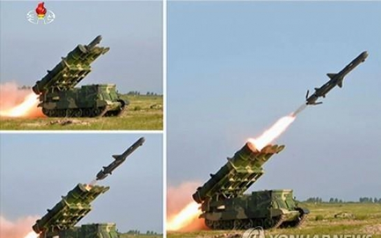 NK fires cruise missiles in fifth weapons test