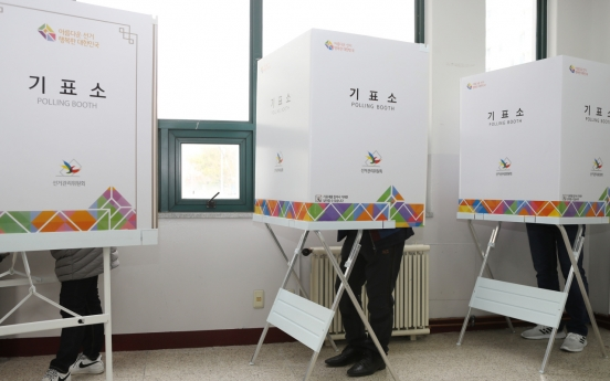 Voter turnout stands at 8% as of 9 a.m.