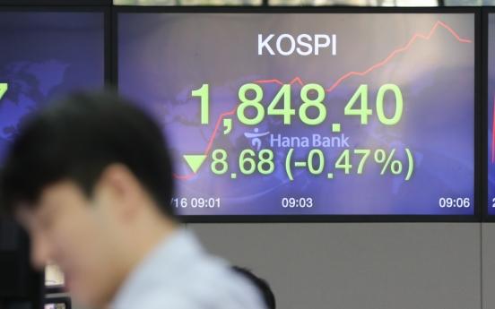 Stocks open lower on Wall Street tumble