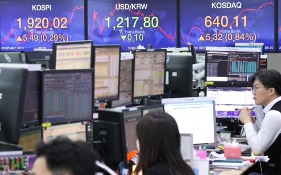 Seoul stocks open higher on easing virus woes