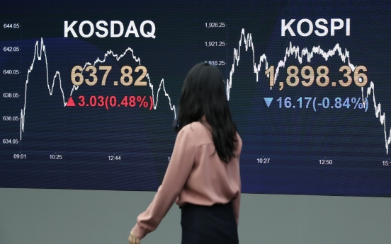 Seoul stocks end lower ahead of Q1 earnings season