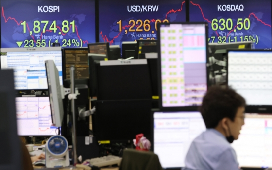 S. Korean shares open lower on Wall Street losses