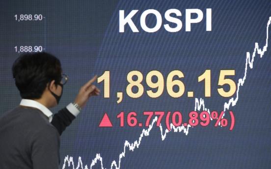 Seoul stocks end up on stimulus amid virus woes