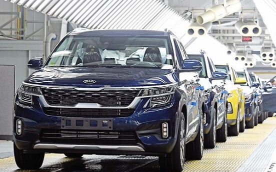 Kia Motors' Q1 net profit halves despite increased sales