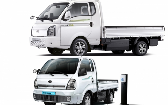 Cargo trucks in Korea going green