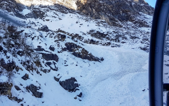 Bodies of 2 S. Koreans found after going missing in Annapurna avalanche in Jan.