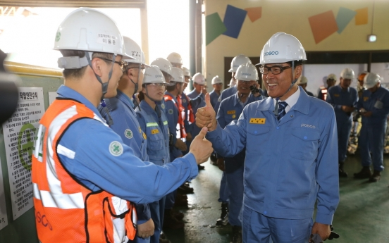 Posco invests in safety-first measures