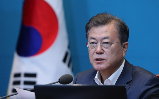 Moon vows to expand inter-Korean cooperation on summit anniversary