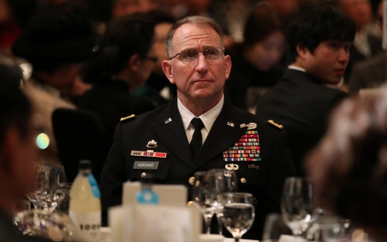USFK to monitor S. Korea's easing of social distancing before deciding whether to follow suit: Abrams