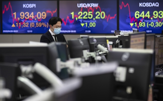 Seoul stocks up for 2nd day on hopes for economic rebound