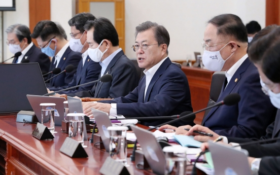 Boosting domestic demand start of economic measures: Moon