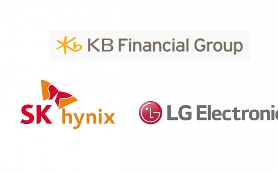 SK hynix, LG, KB Financial recognized for climate change efforts