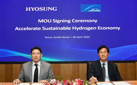 Hyosung to build world's largest liquid hydrogen plant in Ulsan