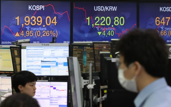 Seoul stocks open almost flat on overnight US losses