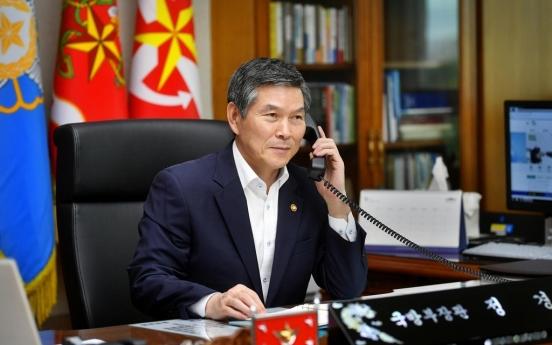 Defense chiefs of S. Korea, Canada vow to cooperate against coronavirus