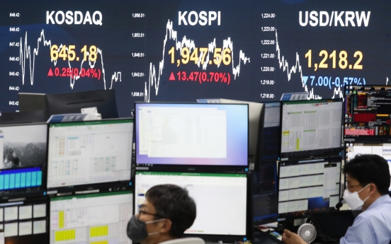 Seoul stocks end up for 3rd day on earnings hope