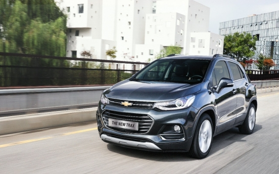 GM Korea's SUV Chevrolet Trax tops small SUV sales in US