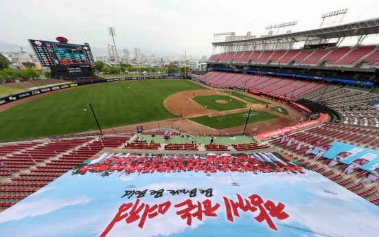 Baseball back in S. Korea as nation emerges from coronavirus pandemic