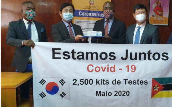 S. Korean firm donates 2,500 COVID-19 test kits to Mozambique