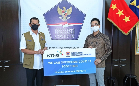 KT&G donates COVID-19 test kits worth W100m to Indonesia