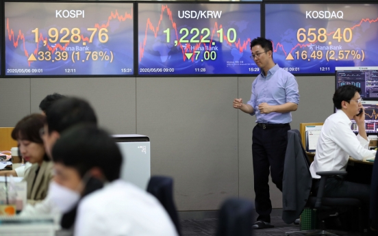 Seoul stocks end higher on hopes over economy reopening