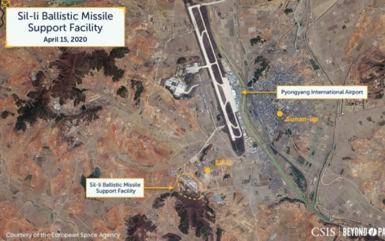 NK may be nearing completion of new ICBM facility: report