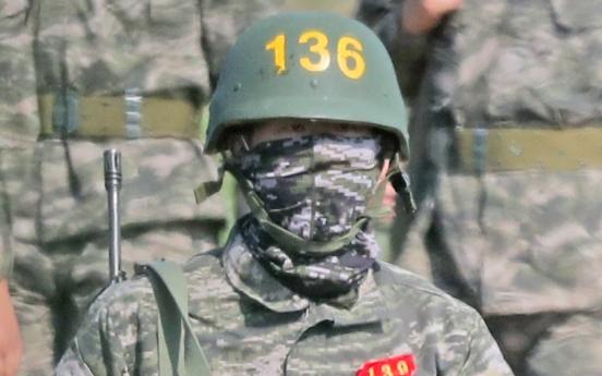 손흥민 '방탄모 쓰고 사격훈련', 영국 언론 '뜨거운 반응'