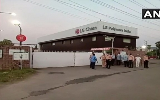 LG Chem vows thorough investigation into India factory gas leak