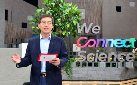 LG Chem unveils vision to leap into science realm