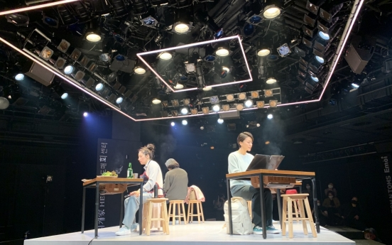 [Herald Review] Theater turns into barbecue eatery in 'Table for One'