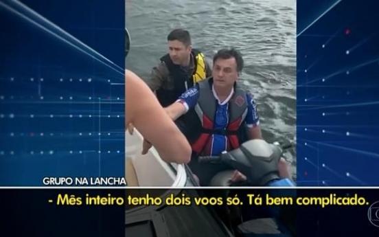 코로나 사망 1만, 브라질 대통령은 제트스키