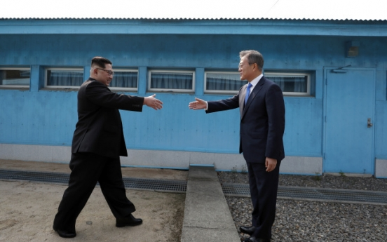 Moon calls for anti-virus cooperation with North Korea as priority