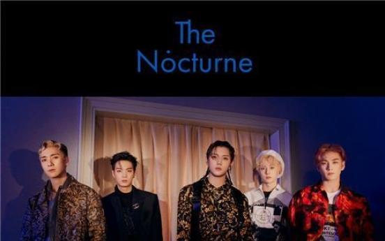 Boy band NU'EST drops new alum 'The Nocturne'