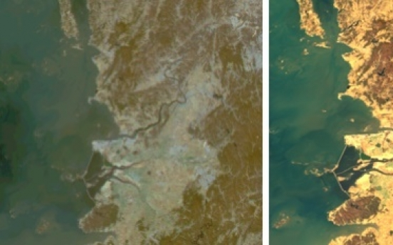 Korea's environment-monitoring satellite sends first images