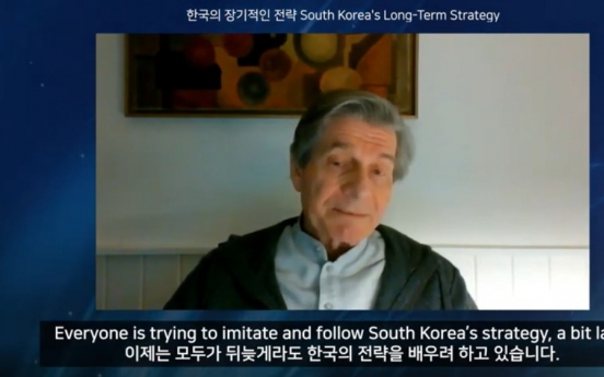 Government's legitimacy, solidarity behind Korea's success battling COVID-19: Sorman