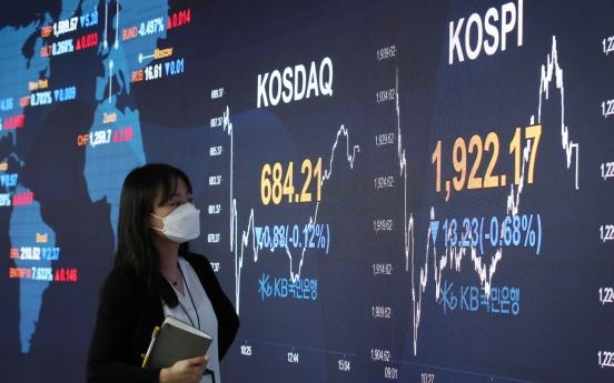 Seoul stocks down for 2nd day over renewed woes over US-China trade row