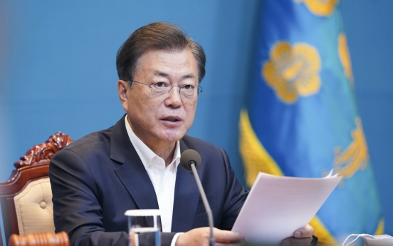 Moon says KCDC upgrade must be priority in 21st National Assembly